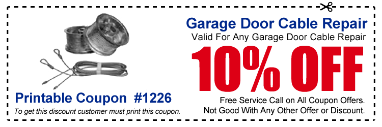 garage door discount