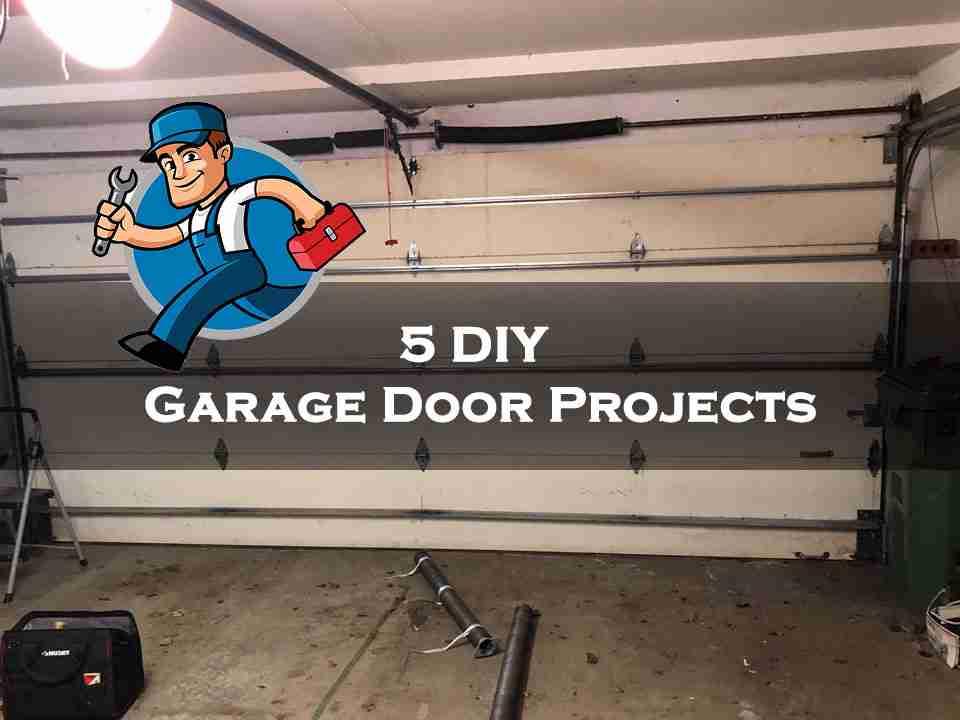 5 DIY Garage Door Projects